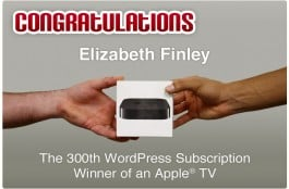 Winner of Apple TV Graphic