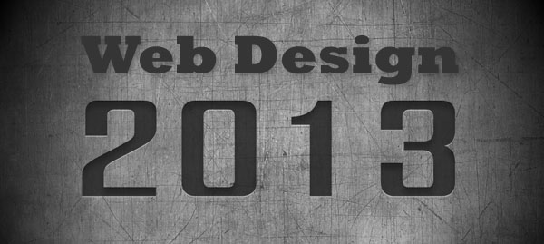 Web Design Trends for 2013