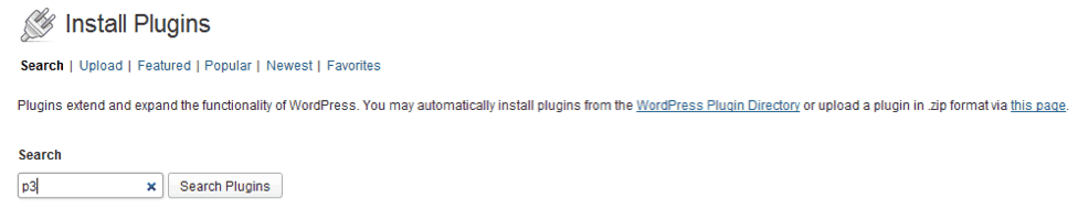 Install T3 Plugin in WordPress