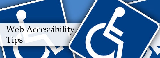 Website Accessiblity Tips