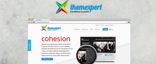 Themexpert Site Redesign