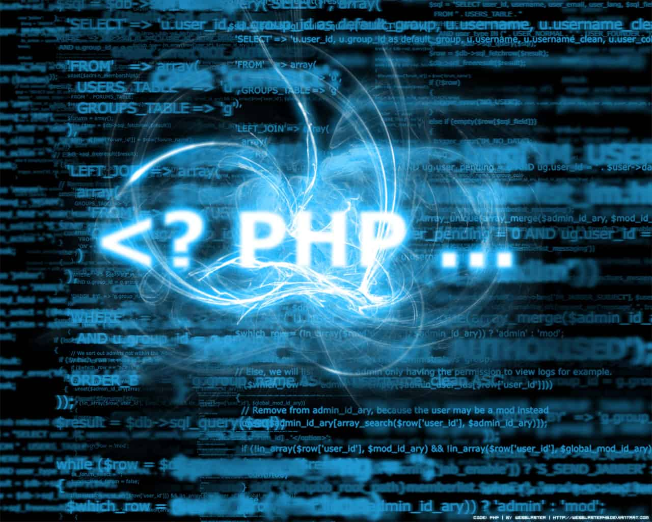 if php: