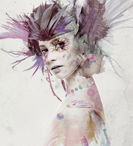 mixed-media-portrait-photoshop