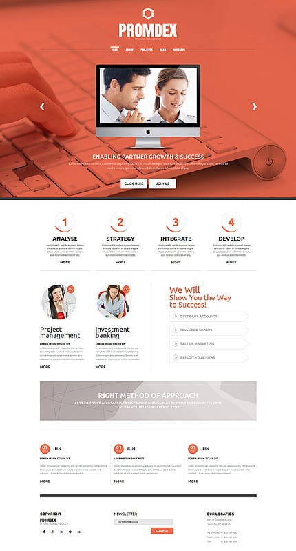 Business Consultant Joomla Template