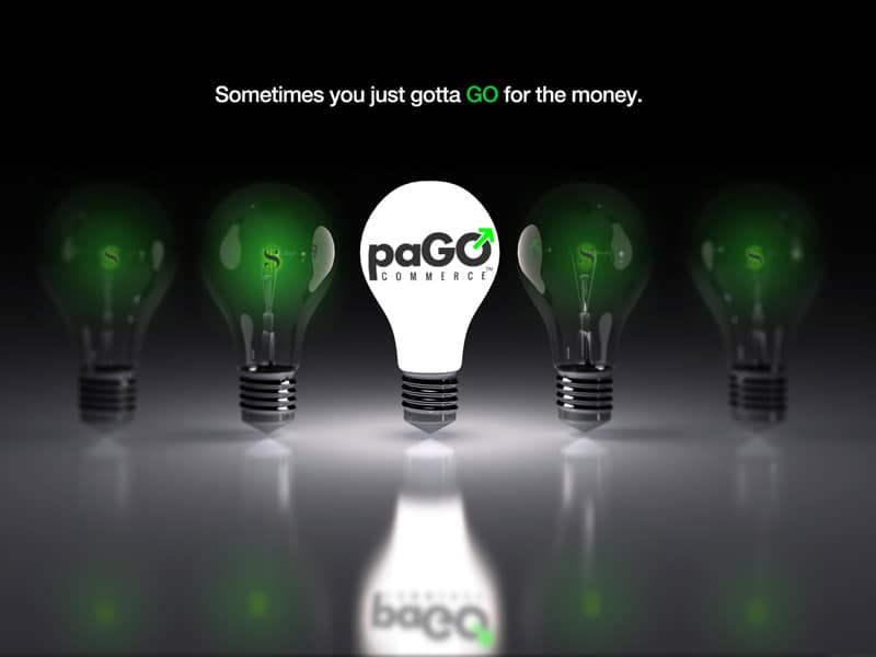 Sometimes, you just gotta GO for the money. Introducing paGO e-commerce component from 'corePHP'