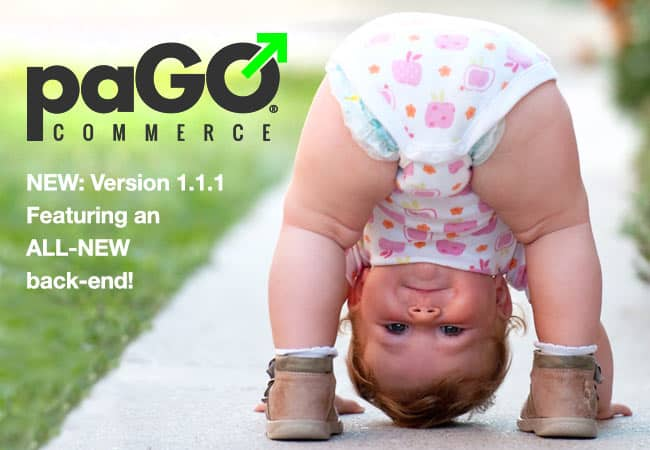 paGO Commerce's latest release features an all-new back-end