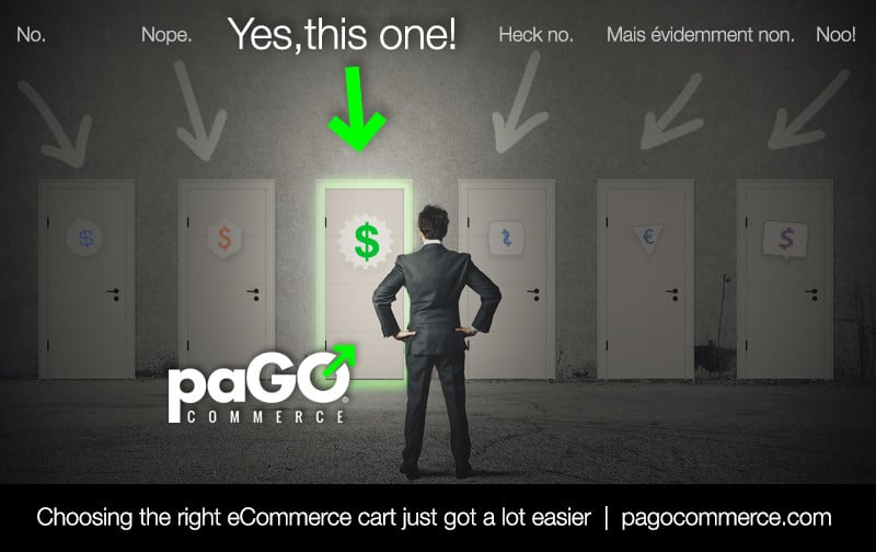 paGO Commerce is the easy choice for professional grade eCommerce