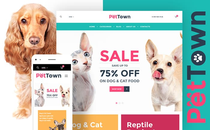 PetTown Pet Store WooCommerce Theme