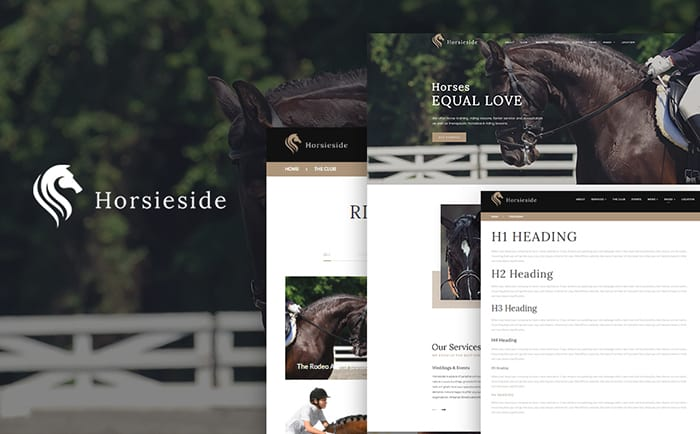 Horse Club WordPress Theme