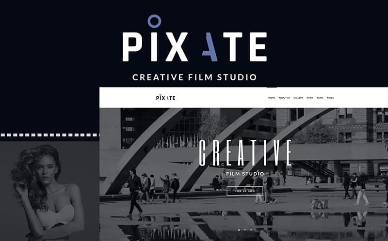 Movie Studio WordPress Theme
