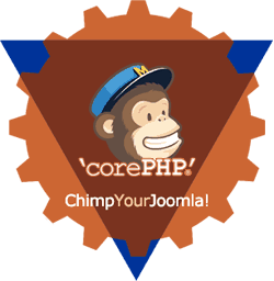 Chimp Your Joomla e-mail plug-in for Joomla! logo
