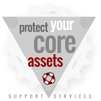 We've got you covered, with 'corePHP' tech support services