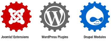 Custom Extension Development in Joomla, WordPress & Drupal